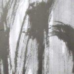 Agitation - Encre sur papier - 120 cm x 60 cm