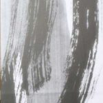 Variation - Encre sur papier - 120 cm x 60 cm