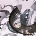 Souffle de vie - Encre sur papier - 91,5 cm x 183 cm