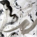 Duetto allegro I - Encre sur toile - 76 cm x 61 cm