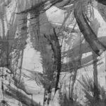 Pulsion VIII - Encre sur papier - 76 cm x 152 cm