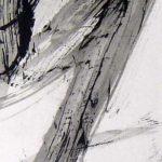 Pulsion XI - Encre sur papier - 50 cm x 25 cm