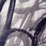 Pulsion XII - Encre sur papier - 90 cm x 60 cm