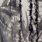 Pulsion X Ink on paper 123 cm x 60 cm