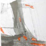 Inanimé - Encre et acrylique - 92 cm x 92 cm