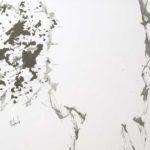 Rythmique - Encre et acrylique - 60 cm x 75 cm