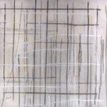 Intersection I - Encre et acrylique - 76 cm x 76 cm