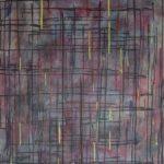 Intersection II - Encre et acrylique - 91,5 cm x 76 cm