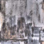 Ephémère - Encre et acrylique - 91,5 cm x 91,5 cm