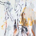 Extase - Encre et acrylique - 76 cm x 50,5 cm