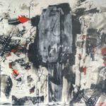 Insomniaque - Encre et acrylique - 152 cm x 101 cm